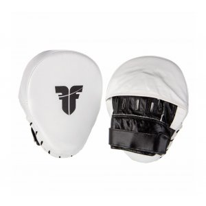 Fighter Curved Mitts - white fokuseri